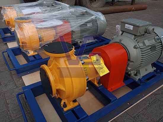 Delivery of 3 Sets of CDR Pump (Non-Metallic / Thermoplastic Pump)