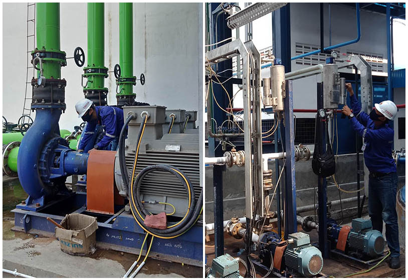 Commissioning of KSB pumps in a Biodiesel factory in East Java