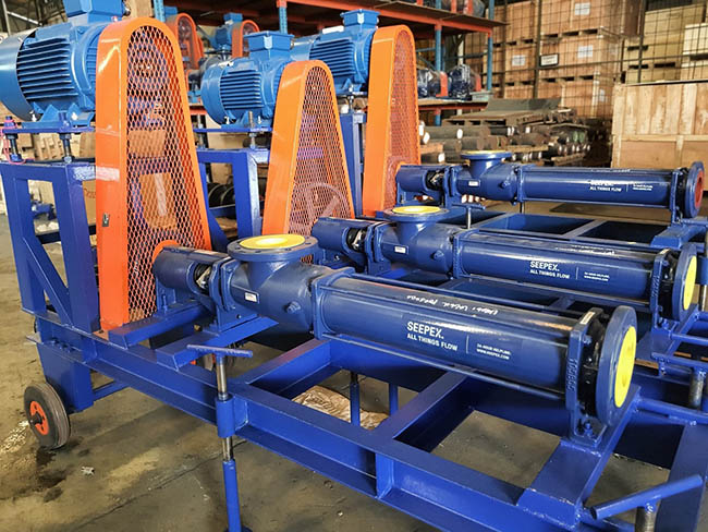 Delivery of 3 sets portable SEEPEX pumps to West Java and Kalimantan.