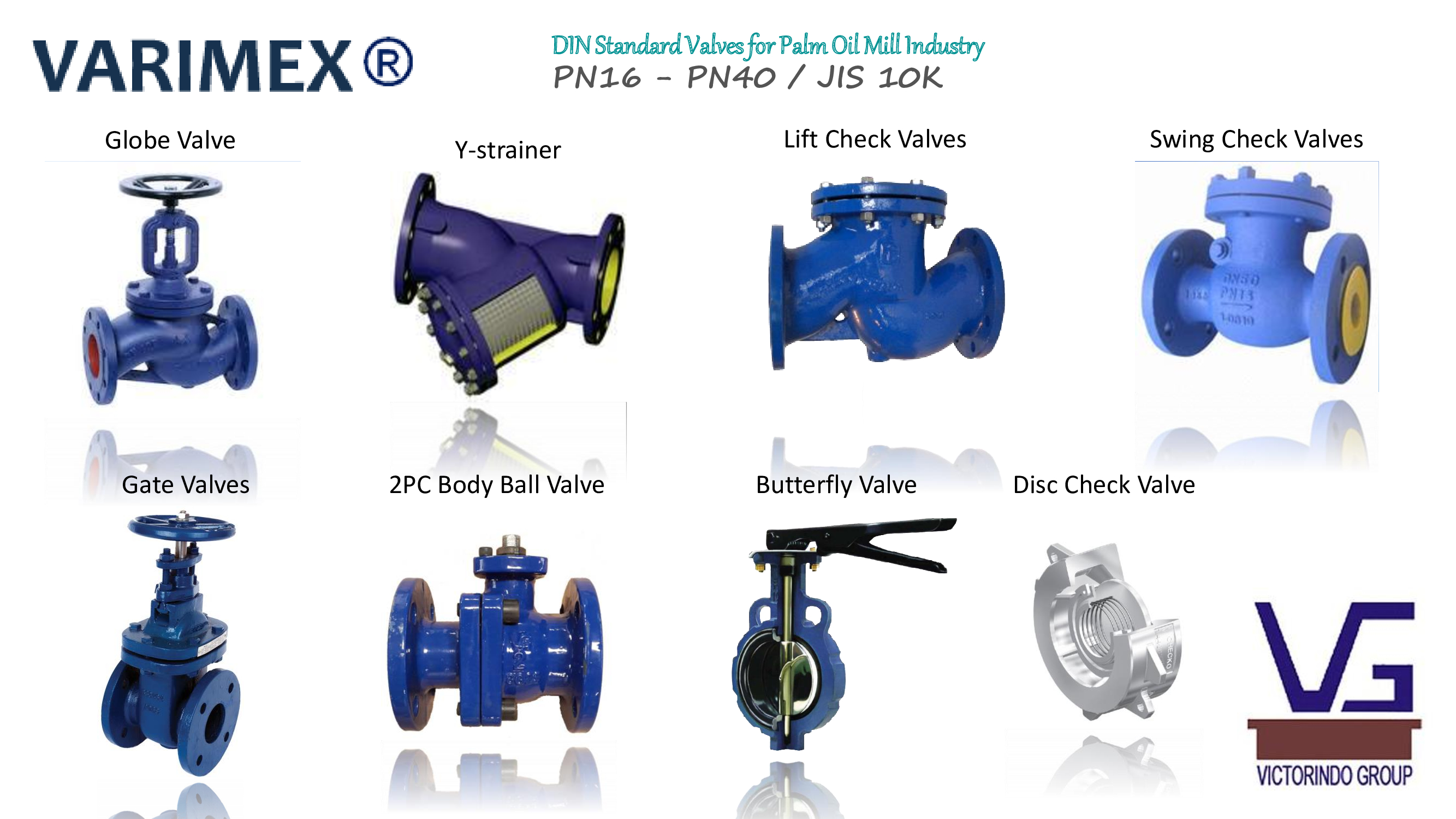 Varimex - Manual Valves for Palm Oil Industry