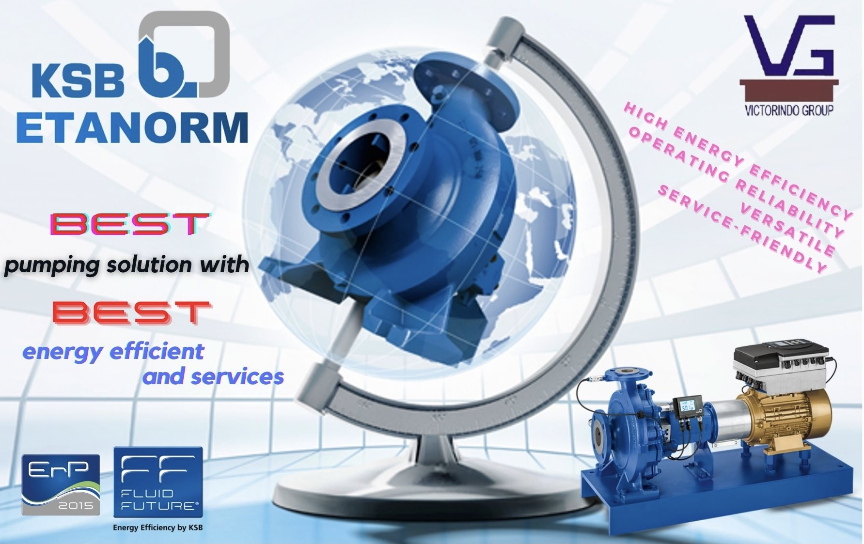 Etanorm - KSB's Global Pump (Best Pumping Solution with Best Efficiency & Services)